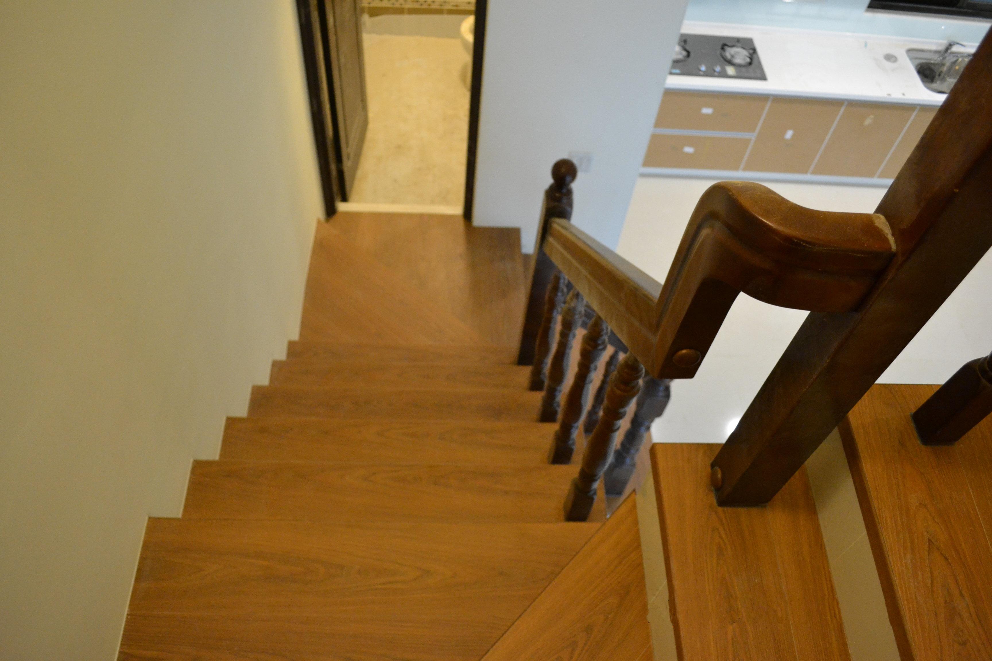 超耐磨地板做樓梯踏面 同步立體星空系列-獅子(台中)