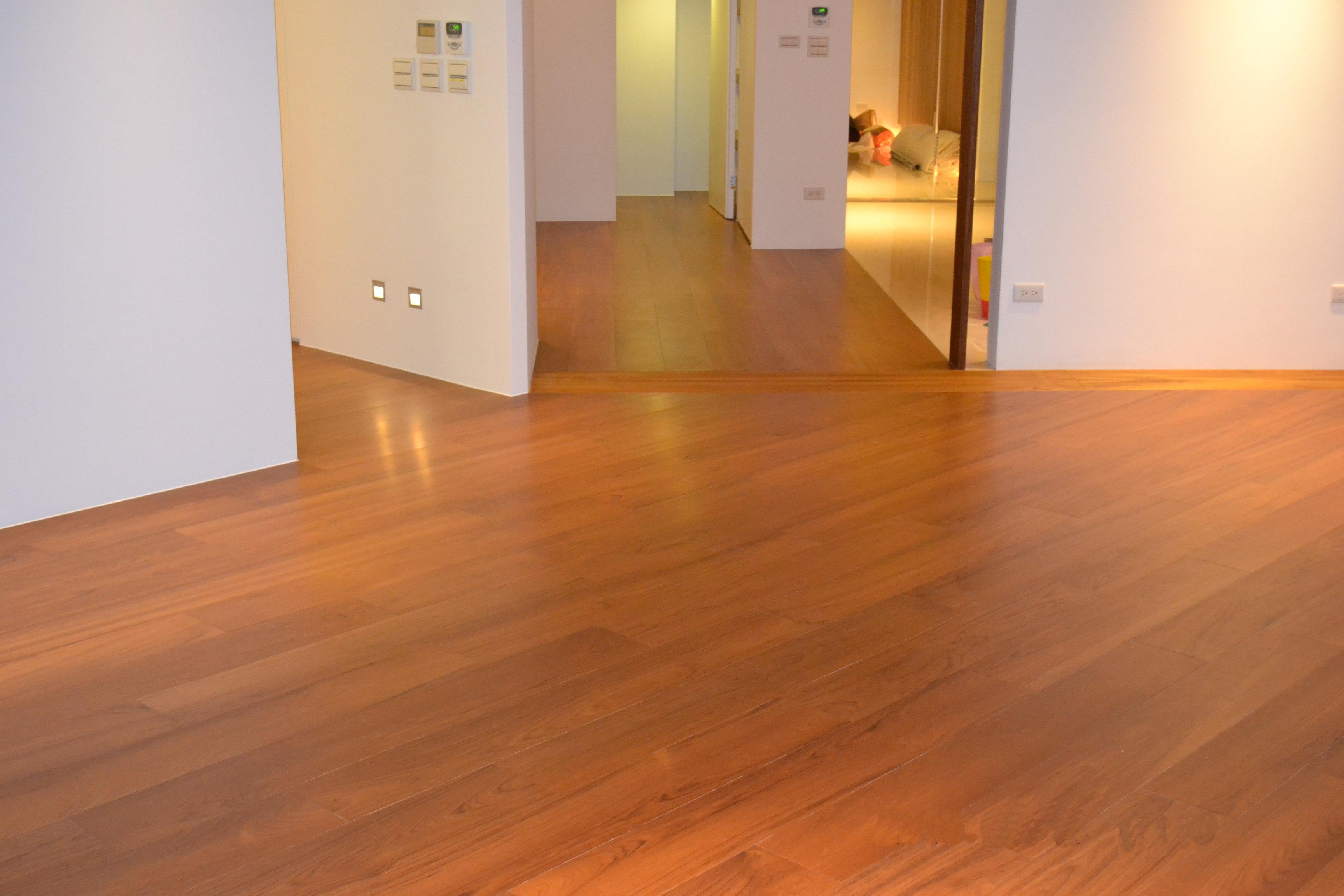 原古-緬甸柚木實木地板6.4寸6分