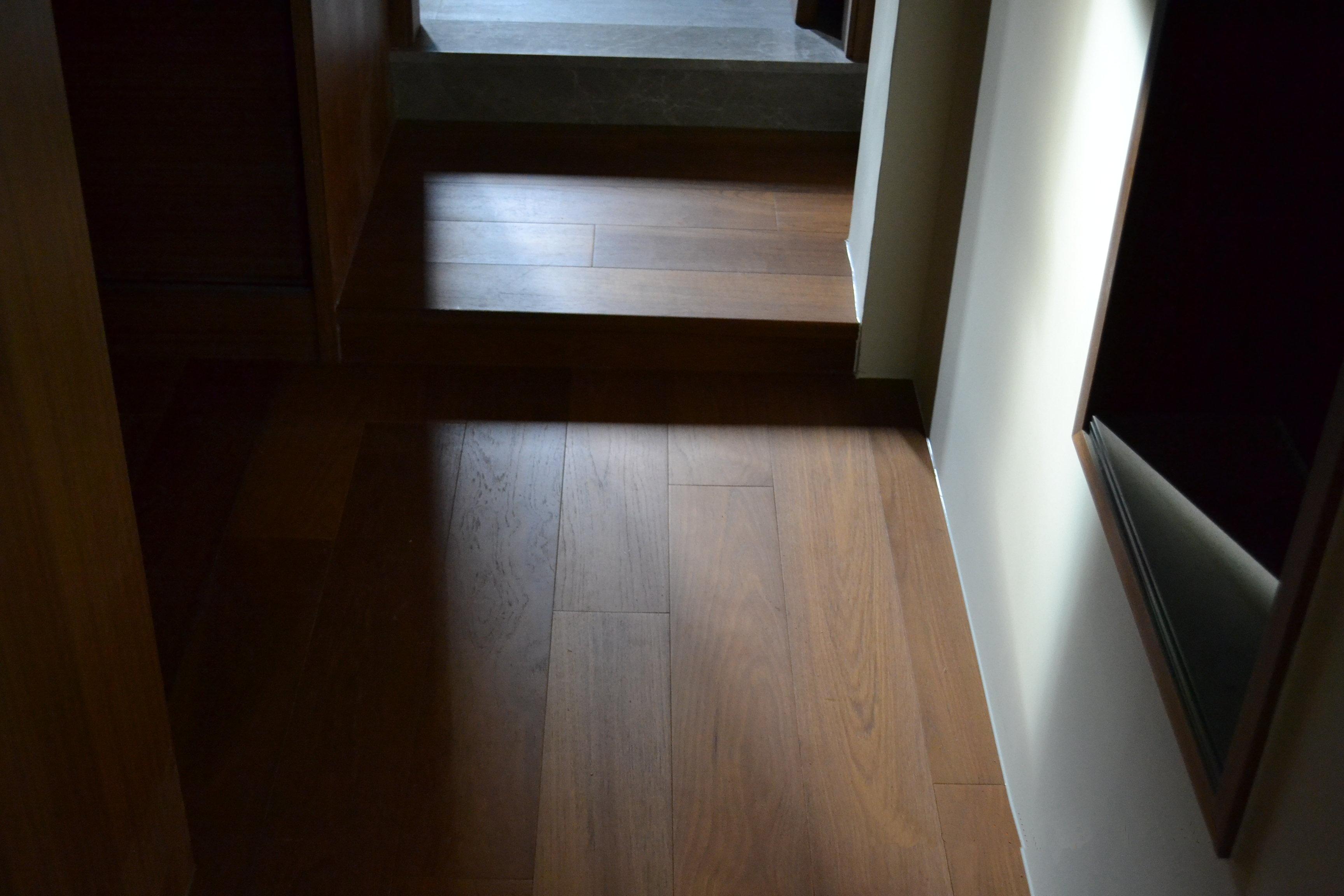 原古-緬甸柚木實木地板5寸6分