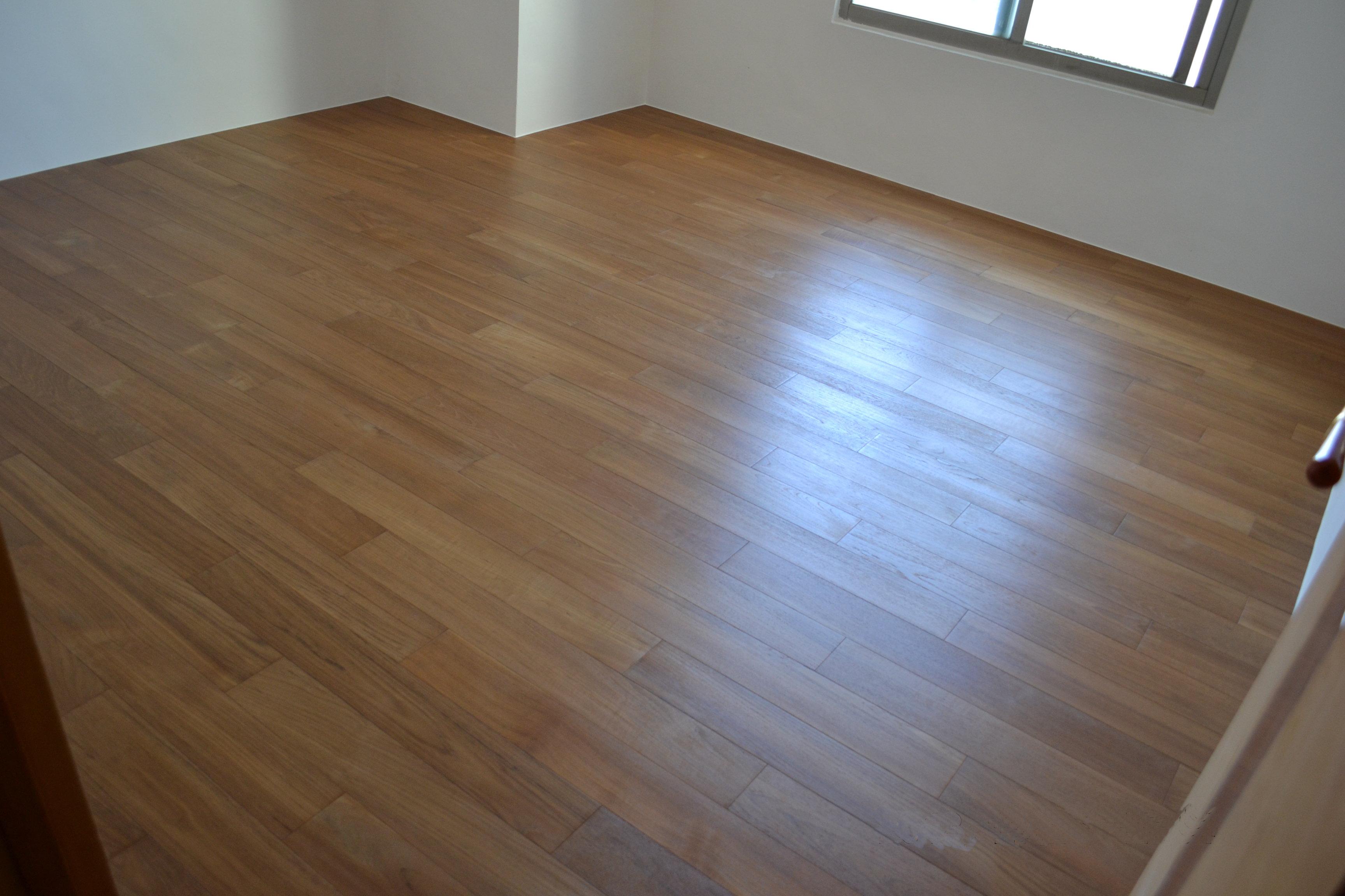 新原古-緬甸柚木實木地板4寸6分