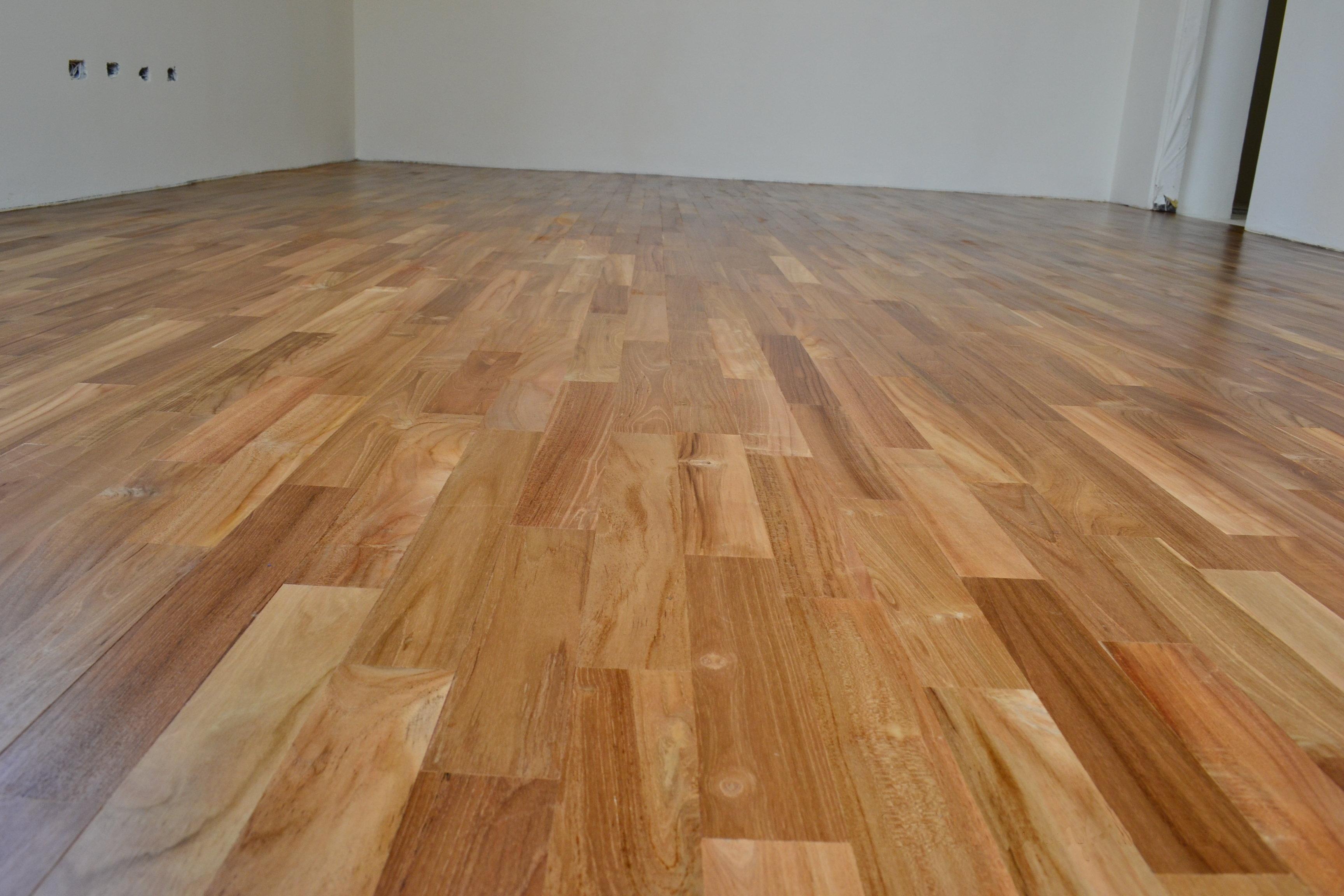 新原古-柚木平口無縫地板