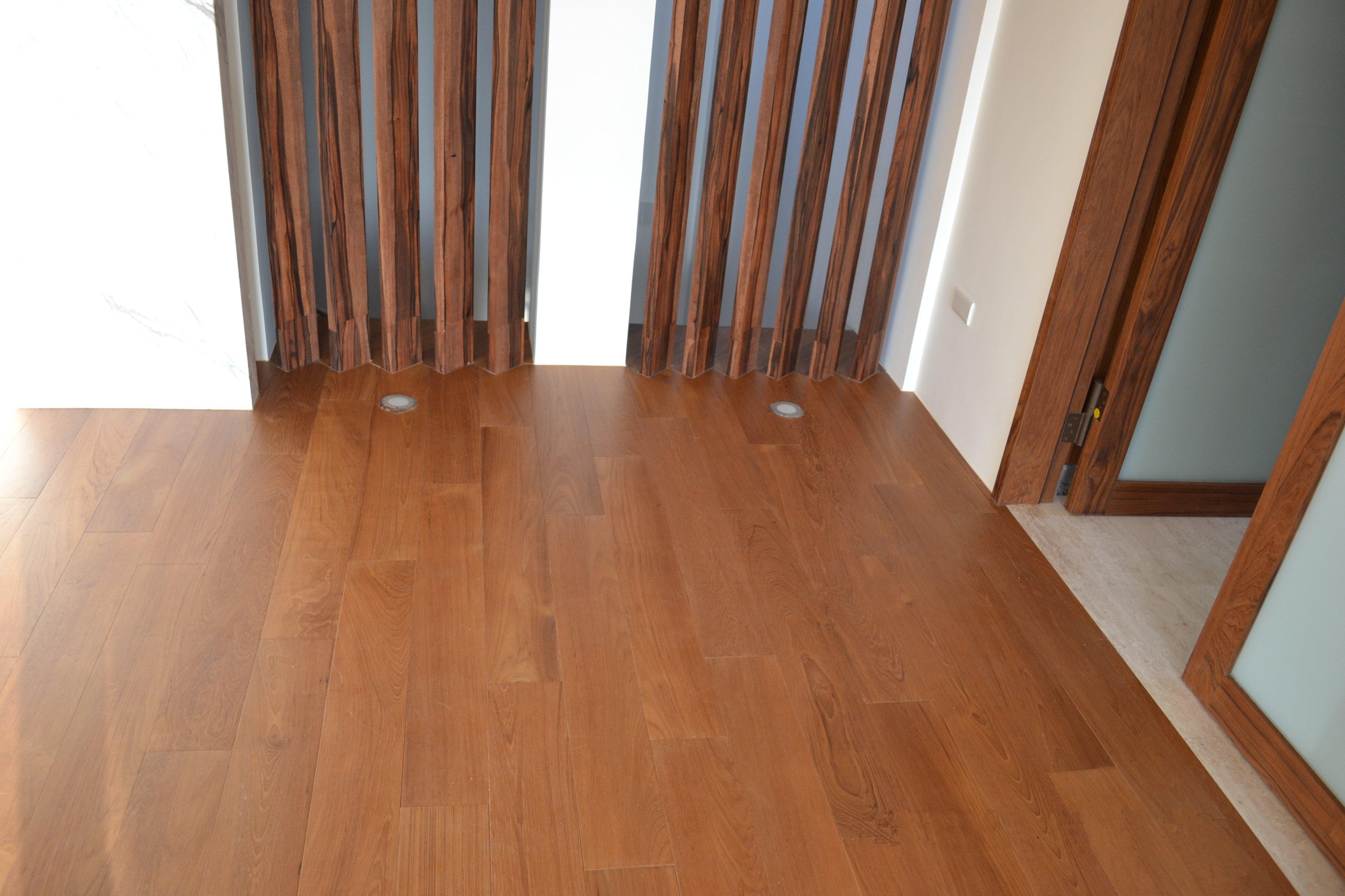 新原古-緬甸柚木實木地板5寸6分