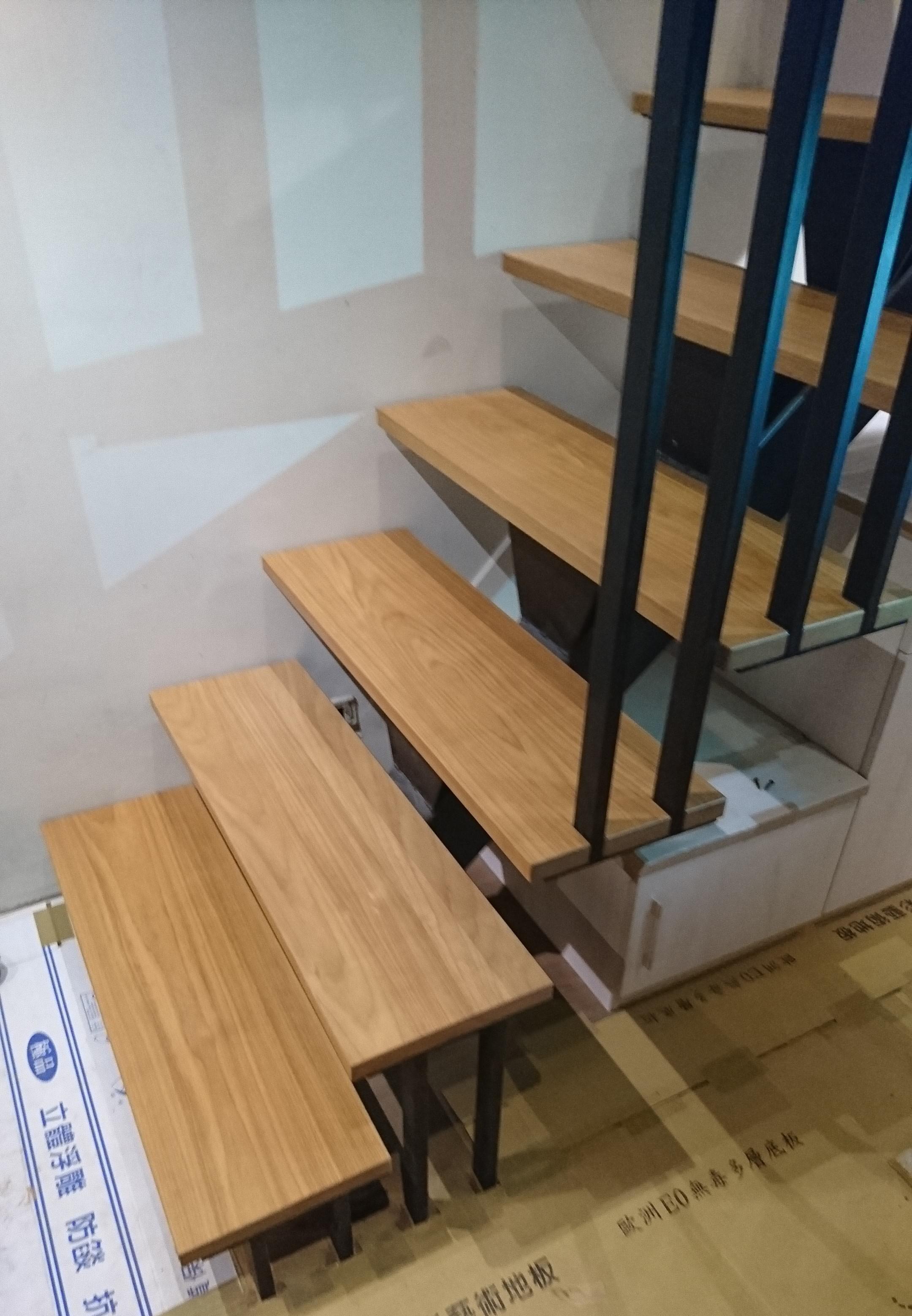 南美柚木樓梯踏板