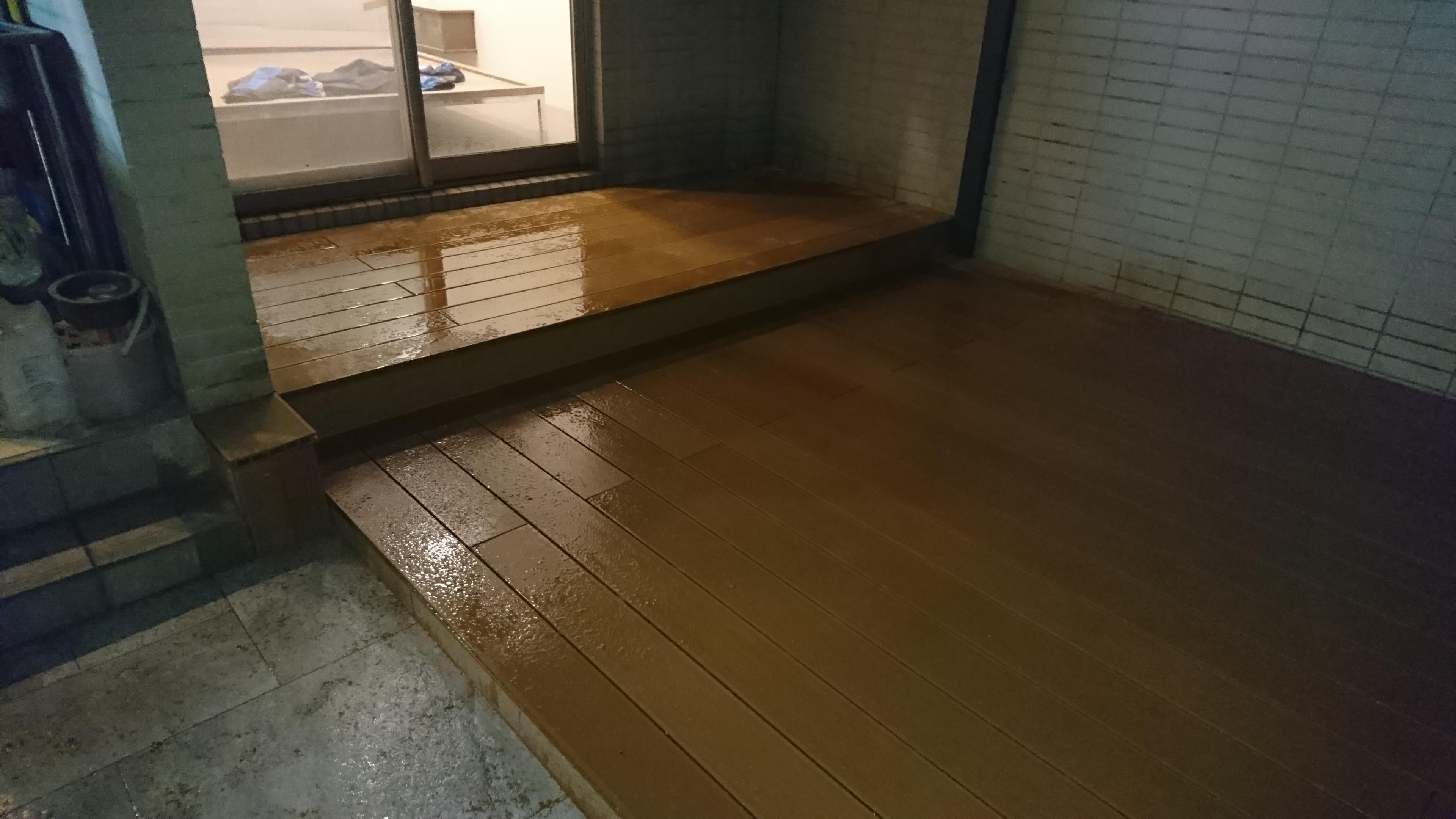室外 塑木地板(台灣製造)(內湖)