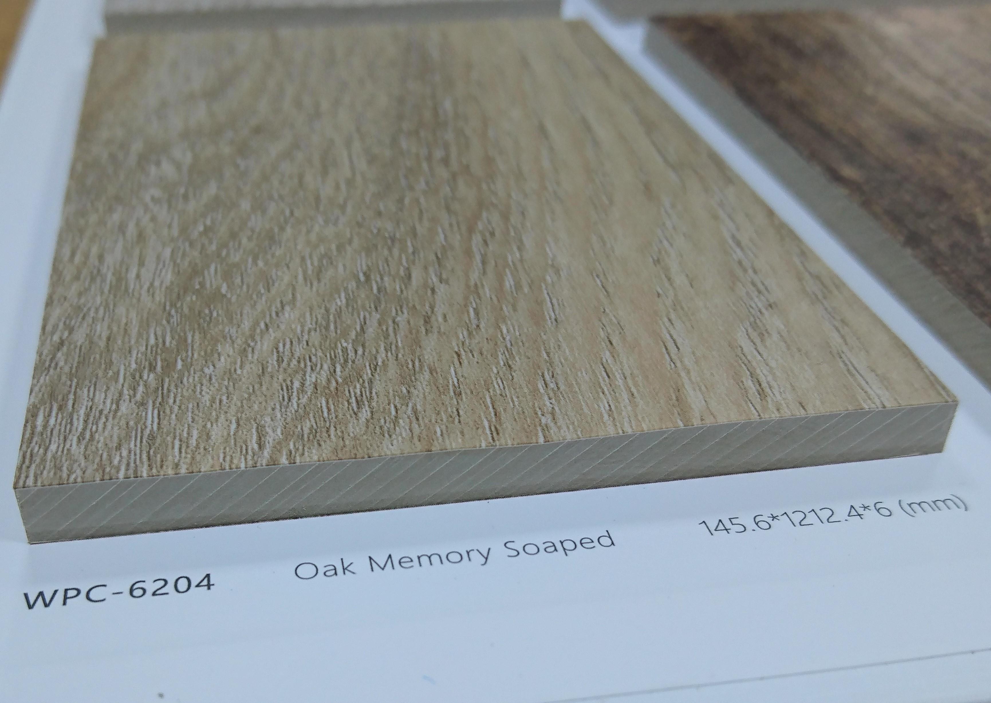 MJ  wpc卡扣防水超耐磨地板 為一體成型產品