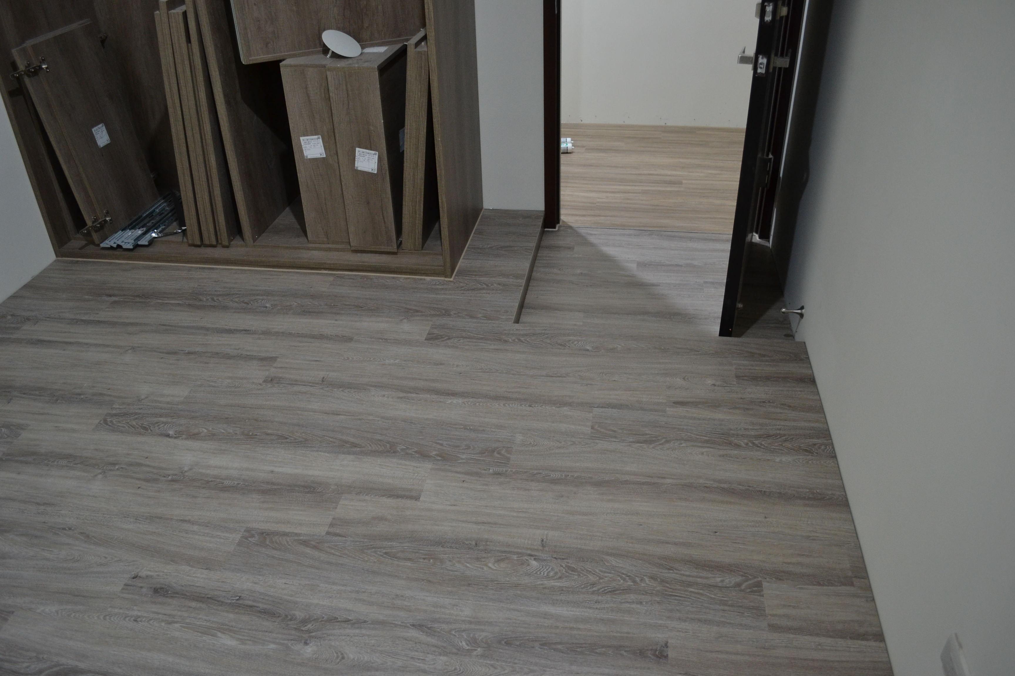 MeiJer WPC高密度木塑鎖扣超耐磨地板 6202 灰色橡木 Oak Pastel-Grey
